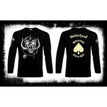 Motorhead - Live To Sin Camiseta Manga Larga Heavy Metal