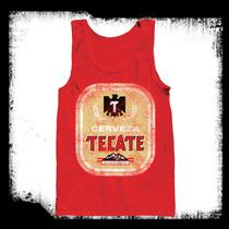 Tecate - Cerveza Mexicana Camiseta De Resaque
