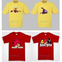 Playeras De Los Angry Birds Au1