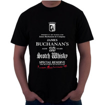 Playera Buchanans , Vat69, J/b, Johnnie Walker, Varios.