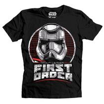 Playera First Orden Mascara De Latex Star Wars