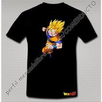 Playera Dragon Ball Z Playera Goku Sayayin Puño Xvox