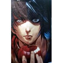 Playera Anime Death Note Mediana Resistente Al Lavado