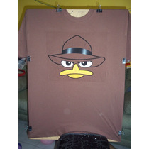 Playera Perry El Ornitorrinco, Phineas Y Ferb
