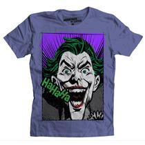Playera Batman Joker Pop Art De Mascara De Latex