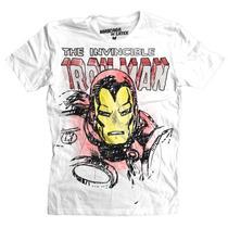 Playeras Mascara De Latex Originales Oferta Iron Man Paint