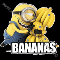 Playera Minions Mi Villano Favorito Bananas