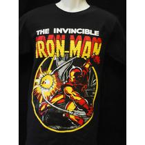 The Invincible Iron Man - Playera Marvel Heroes Avengers