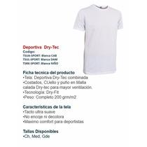 Playera Deportiva Dry Tec Impresion De Playeras