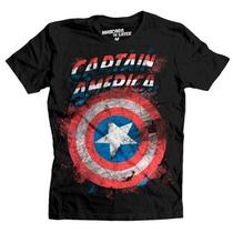 Playera Capitán América Shield