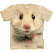 Playera 4d - Unisex -- 3621 Hamster Face