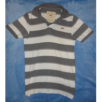 Playera Hollister Tipo Polo Original