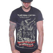 Playera King Monster Mod: Lobos En Moto