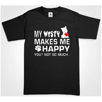 Playera Westy West Highland White Diseño Super Original Nuev