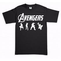 Playeras Super Heroes Avengers Ironman Hulk Capitan Ame Thor