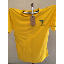 Playera Para Rugby Marca Rugby Heritage Australia Mediana