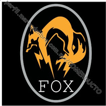 Playera Metal Gear Fox Playera Phantom Pain Fox Ainn