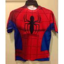 Playera Spiderman Super Héroes Marvel Hombre Araña