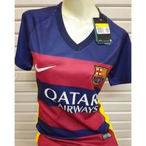 Playera Mujer- Fc Barcelona