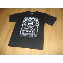 Playera Camiseta Led Zeppelin Jack Daniels Look Alike