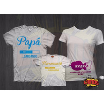 Playeras Para Baby Shower, Fiesta, Embarazada, Divertidas