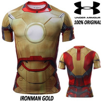Ironman Under Armour Alter Ego Compression Hombre Original