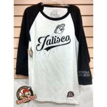 Camisa Beisbolera (3/4), Modelo Jalisco