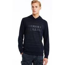 Hoodie Armani Exchange Ax Talla L.