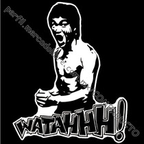 Playera Bruce Lee Watahhh