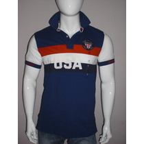 Playera Estilo Polo Tommy Hillfiger Tallas M 100% Original