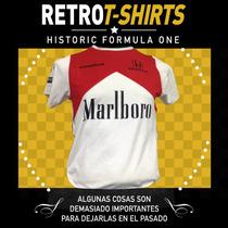 Playera Senna Formula 1, Retro Marlboro