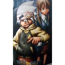 Playera Anime Soul Eater Mediana Resistente Al Lavado