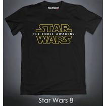 Playeras Star Wars The Force Awakens Darth Vader Dark Side