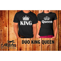Playeras 14 De Febrero San Valentin Queen King Parejas