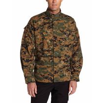 Camisa Táctica Propper Digital Camo Battle Rip Acu Coat