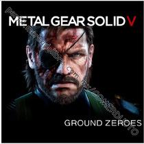 Playera Metal Gear Ground Zeroes Playera Metal Gear V