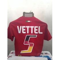 Playeras Vettel Ferrari Formula 1