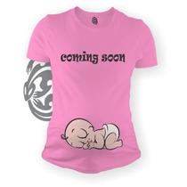 Blusa Playera Maternidad Baby Shower Embarazada Bebes Gecko
