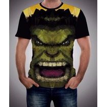 Playera Super Heroes Hulk