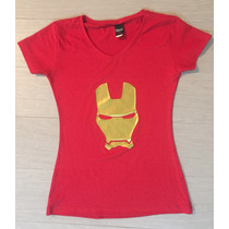 Playera Ironman Civil War Máscara