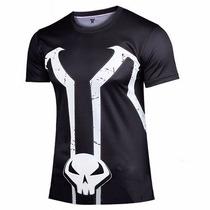Spawn Playera Superhéroe Ciclismo Camiseta Camisetas Disfraz