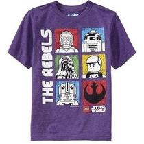 Playera Star Wars Lego Para Niños, Original Importada.