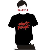 Playera Dj Daft Punk Dama Hombre Niño Promocion 4 X 5