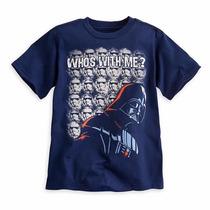 Dark Vader Playera Para Niño 5/6 Años Disney Store