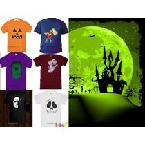 Playeras De Halloween, Increibles Modelos Lbf