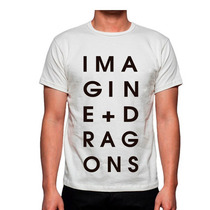Playera Imagine Dragons Rock Bandas Mas Promociones