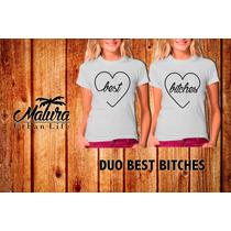 Playeras14 De Febrero San Valentin Best Bitches Amor Y Amist