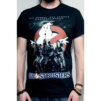 Playera Negra Película Los Cazafantasmas ( Ghostbusters )