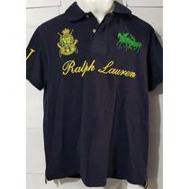Playera Tipo Polo Ralph Iv County Riders Jockey Club