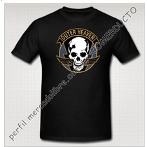 Playera Metal Gear Phantom Pain Outer Heaven Parche Gratis